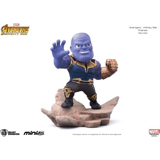 Avengers: Avengers Infinity War Mini Egg Attack Figure Thanos 9 cm