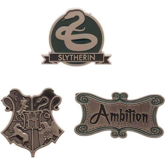 Harry Potter: Slytherin Pin Sæt 3-Pak