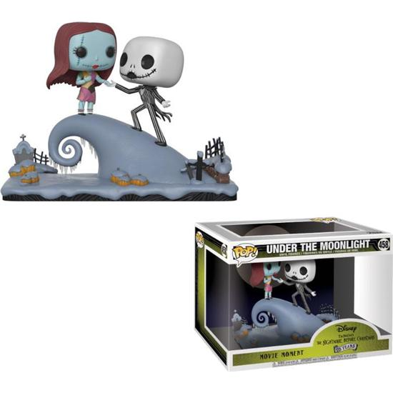 Nightmare Before Christmas: Jack & Sally POP! Movie Moments Vinyl Bobble-Head 2-Pak (#458)
