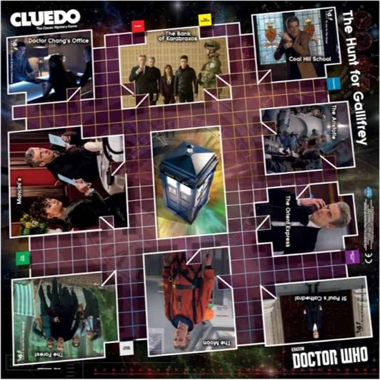 Doctor Who: Doctor Who Cluedo Spil