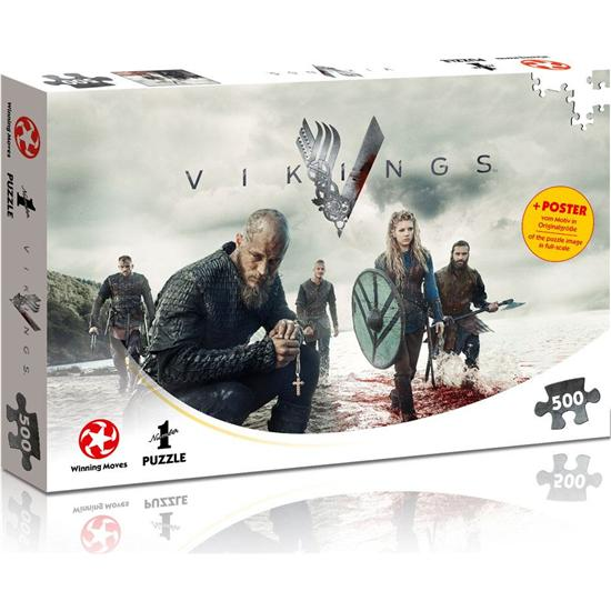 Vikings: Vikings Jigsaw Puzzle The World Will be Ours