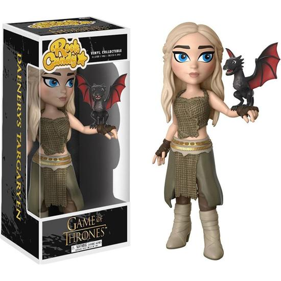 Game Of Thrones: Daenerys Targaryen Rock Candy Vinyl Figur