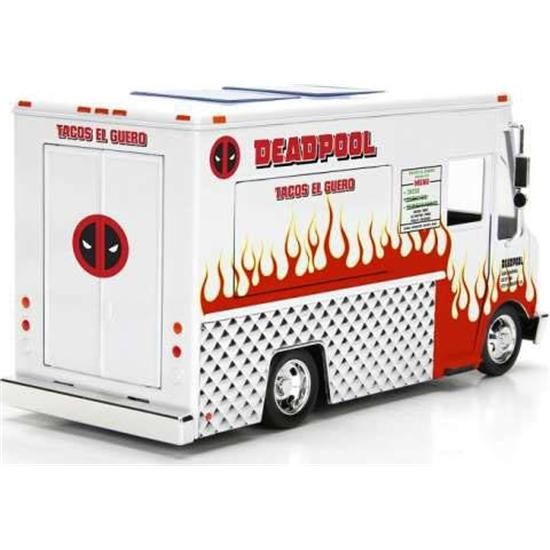 Deadpool: Deadpool Diecast Model 1/24 Deadpool Taco Truck