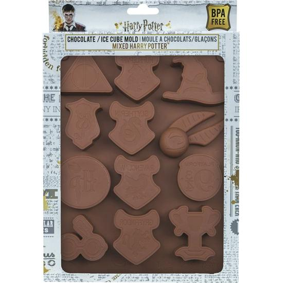 Harry Potter: Harry Potter Chocolate / Ice Cube Mold Logos