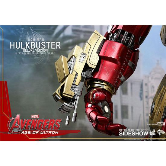 Avengers: Avengers Age of Ultron Movie Masterpiece Action Figure 1/6 Hulkbuster Deluxe Ver. 55 cm