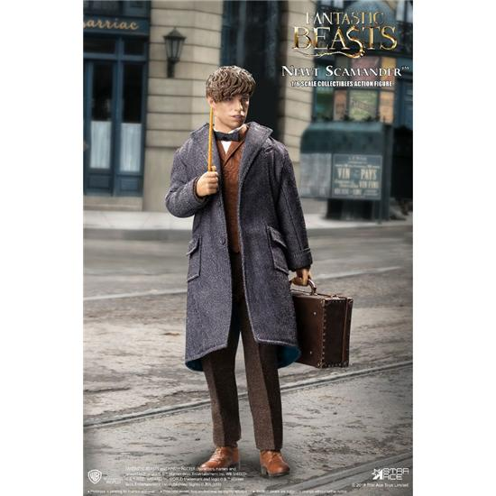 Fantastiske Skabninger: Fantastic Beasts My Favourite Movie Action Figure 1/6 Newt Scamander Grey Coat Ver. 30 cm