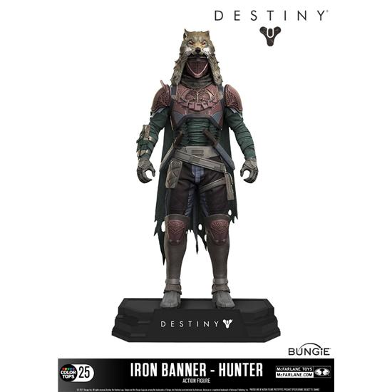 Destiny: Destiny Color Tops Action Figure Iron Banner Hunter 18 cm
