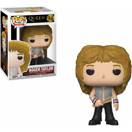 Queen: Roger Taylor POP! Rocks Vinyl Figur (#94)