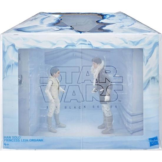 Star Wars: Leia & Han (Hoth) Exclusive Black Series Action Figures 15 cm