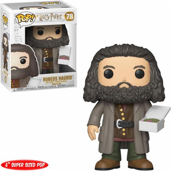 Harry Potter: Ruebus Hagrid with Cake POP! Movies Vinyl Figur (#78)