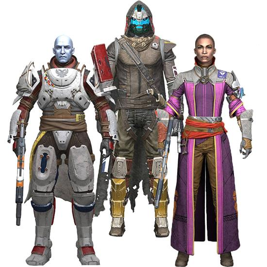 Destiny: Destiny 2 Action Figures 18 cm 3-pack