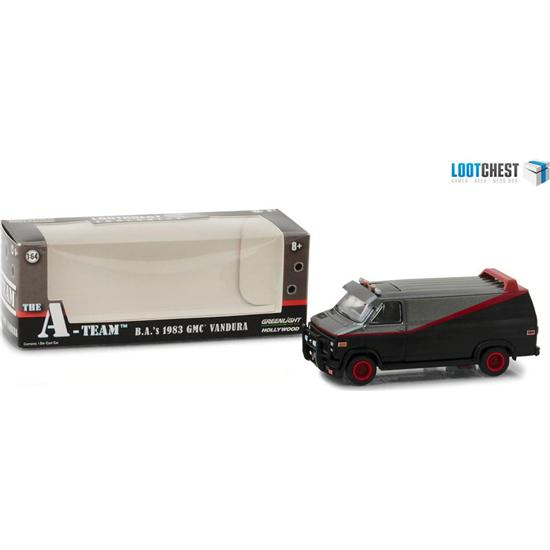 A-Team: A-Team Diecast Model 1/64 1983 GMC Vandura