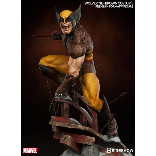 X-Men: Wolverine Premium Format Statue - Brown Costume
