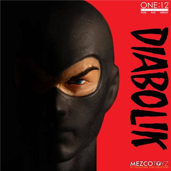 Diabolik: Diabolik Action Figure One:12 17 cm