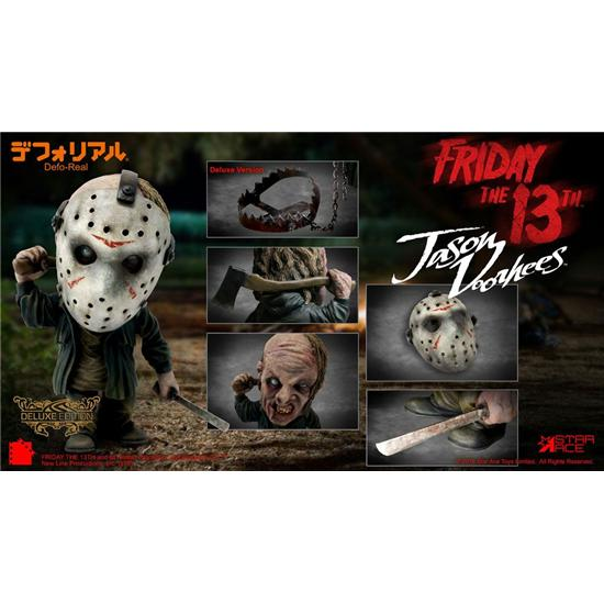 Friday The 13th: Friday the 13th Defo-Real Series Soft Vinyl Figure Jason Voorhees Deluxe Version 15 cm