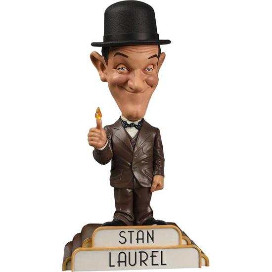Gøg og Gokke: Gøg Bobble-Head Stan Laurel in Suit 20 cm