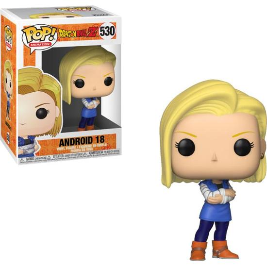 Dragon Ball: Android 18 POP! Animation Vinyl Figur (#530)