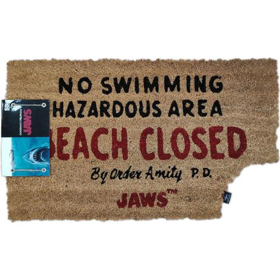 Jaws - Dødens Gab: Jaws Beach Closed Dørmåtte
