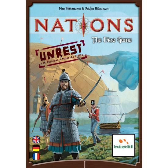 Diverse: Nations: The Dice Game - med Unrest Expansion