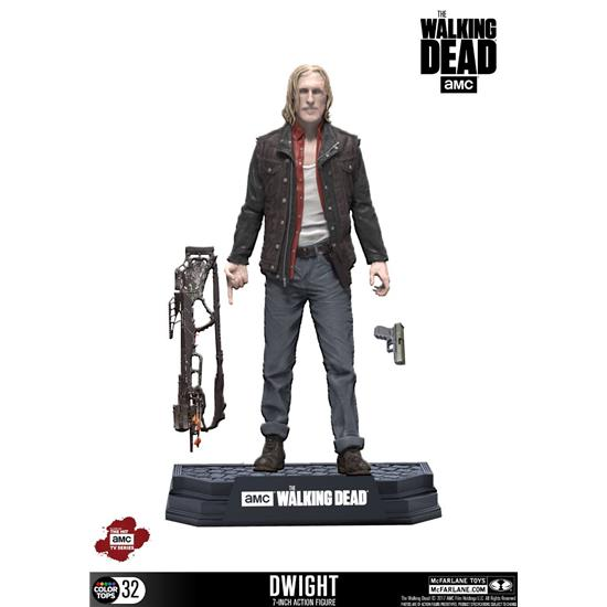 Walking Dead: The Walking Dead TV Version Color Tops Action Figure Dwight 18 cm