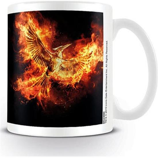 Hunger Games: Mockingjay flamme krus