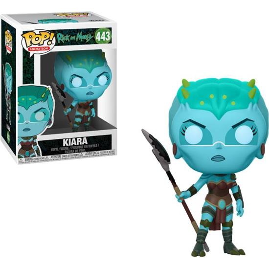 Rick and Morty: Kiara POP! Animation Vinyl Figur (#443)