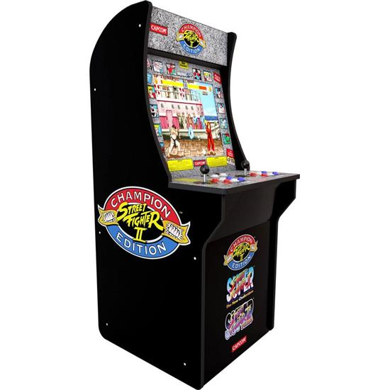 Diverse: Arcade1Up Mini Cabinet Arcade Game Street Fighter II Champion Edition 122 cm