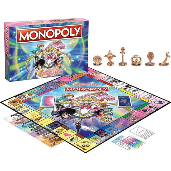 Sailor Moon: Sailor Moon Board Game Monopoly *English Version*