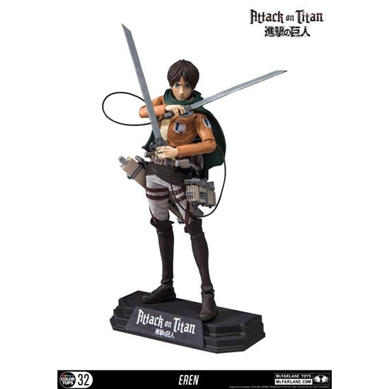 Attack on Titan: Attack on Titan Color Tops Action Figure Eren Jaeger 18 cm