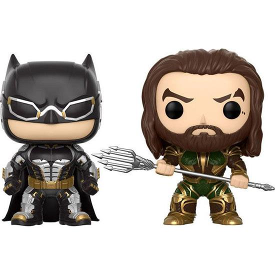 Justice League: Batman & Aquaman Movie POP! Marvel Vinyl Figursæt 2-Pak