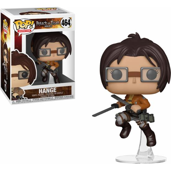 Attack on Titan: Hange POP! Animation Vinyl Figur (#464)