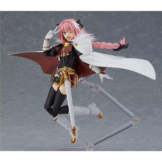 Fate/...: Fate/Apocrypha Figma Action Figure Rider of Black 14 cm