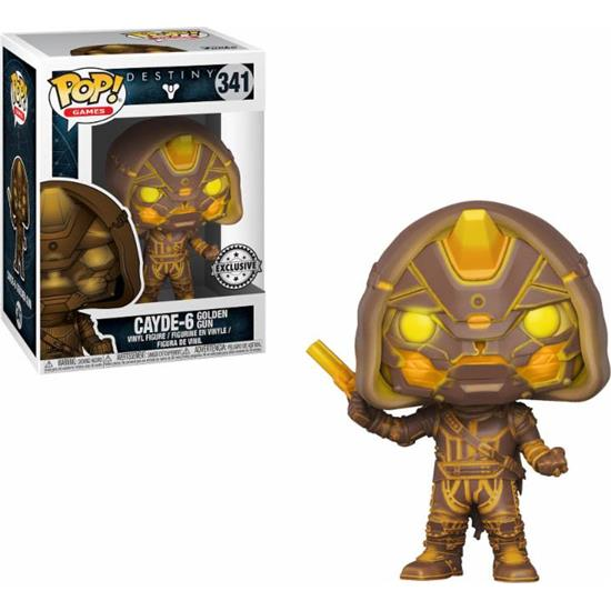 Destiny: Cayde-6 GITD med Golden Gun POP! Games Vinyl Figur (#341)