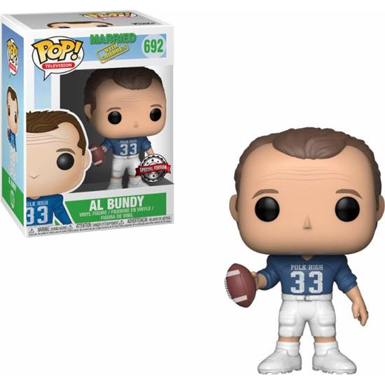 Married... with Children: Al Bundy Football Uniform POP! TV Vinyl Figur (#692)