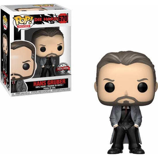 Die Hard: Hans Gruber POP! Movies Vinyl Figur (#670)