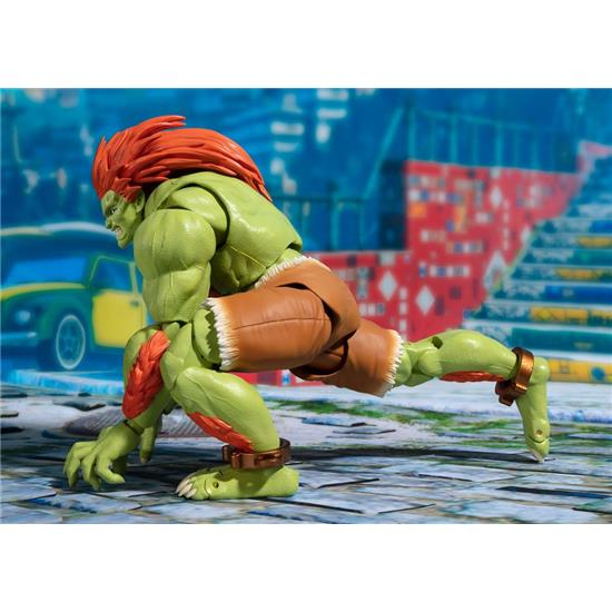 Street Fighter: Street Fighter S.H. Figuarts Action Figure Blanka Tamashii Web Exclusive 16 cm