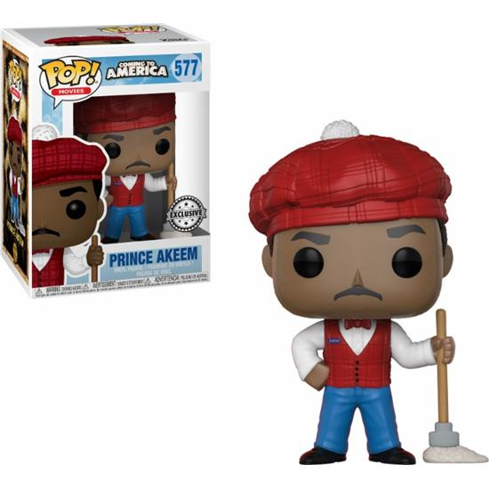 Coming to America: Prince Akeem POP! Movies Vinyl Figur (#577)