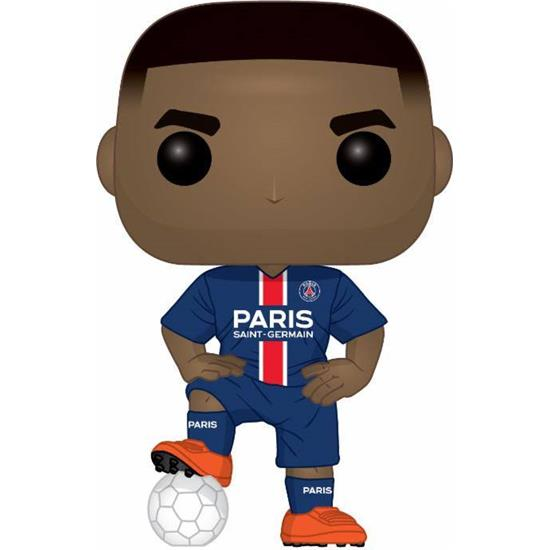 Paris Saint-Germain F.C.: Kylian Mbappé POP! Football Vinyl Figur