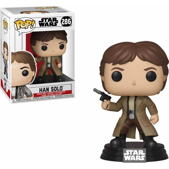 Star Wars: Endor Han Solo POP! Movies Vinyl Figur (#286)