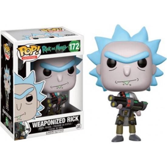 Rick and Morty: Weaponized Rick POP! Vinyl Figur (#172)