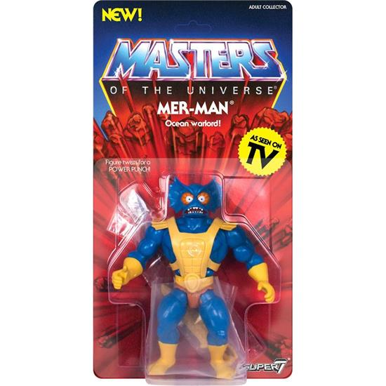 Masters of the Universe (MOTU): Mer-Man Vintage Collection Action Figure 14 cm
