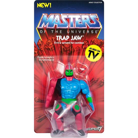Masters of the Universe (MOTU): Trap Jaw Vintage Collection Action Figure 14 cm