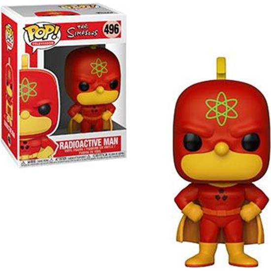 Simpsons: Radioactive Man POP! TV Vinyl Figur (#496)