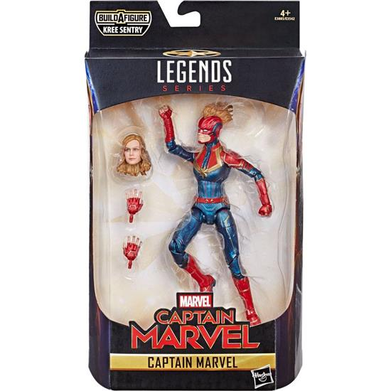 Captain Marvel: Marvel Legends Series Action Figures 15 cm Captain Marvel 2019 Wave 1 7+1 pack