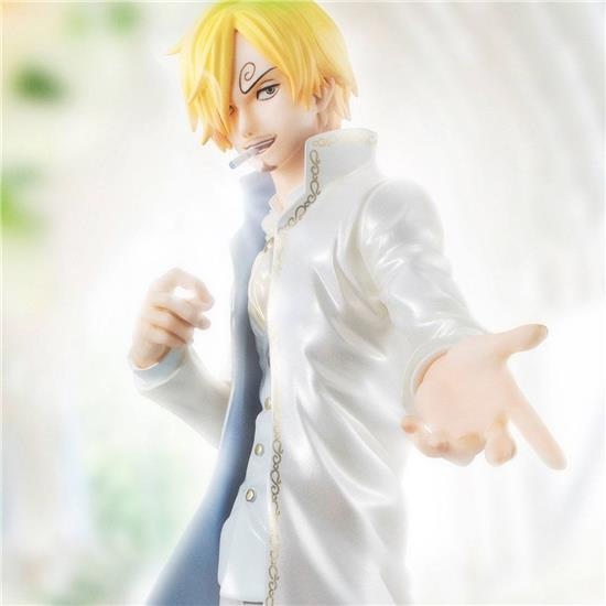 One Piece: One Piece Excellent Model P.O.P Limited Edition PVC Statue 1/8 Sanji Ver WD 23 cm