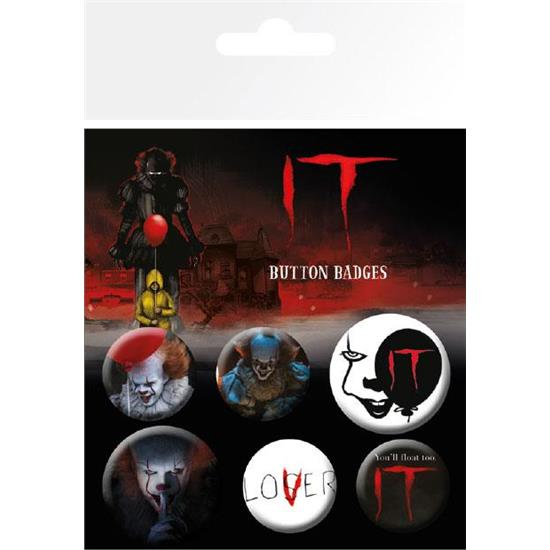 IT: It Film Badge Sæt 6-Pak