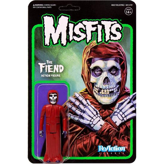 Misfits: Misfits ReAction Action Figure The Fiend Crimson Red 10 cm