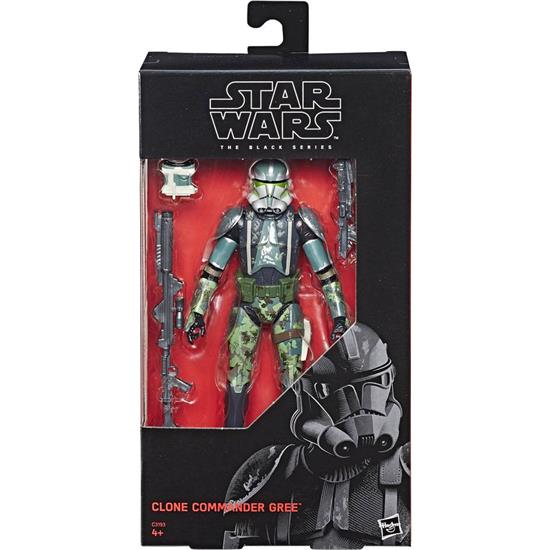 Star Wars: Star Wars Episode III Black Series Action Figure Clone Commander Gree 2017 Exclusive 15 cm