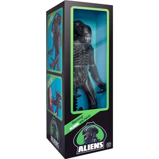 Alien: Aliens Super Size Action Figure Alien Warrior Classic Toy Edition (Matte Black) 46 cm