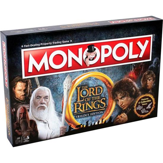 Lord Of The Rings: Lord of the Rings Board Game Monopoly *English Version*